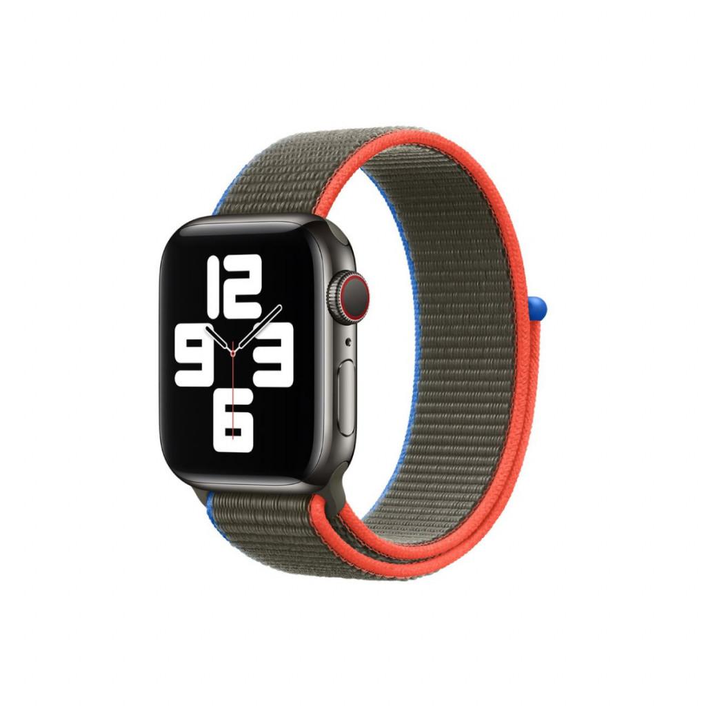Apple Watch 40 mm Sport Loop - Olivengrønn