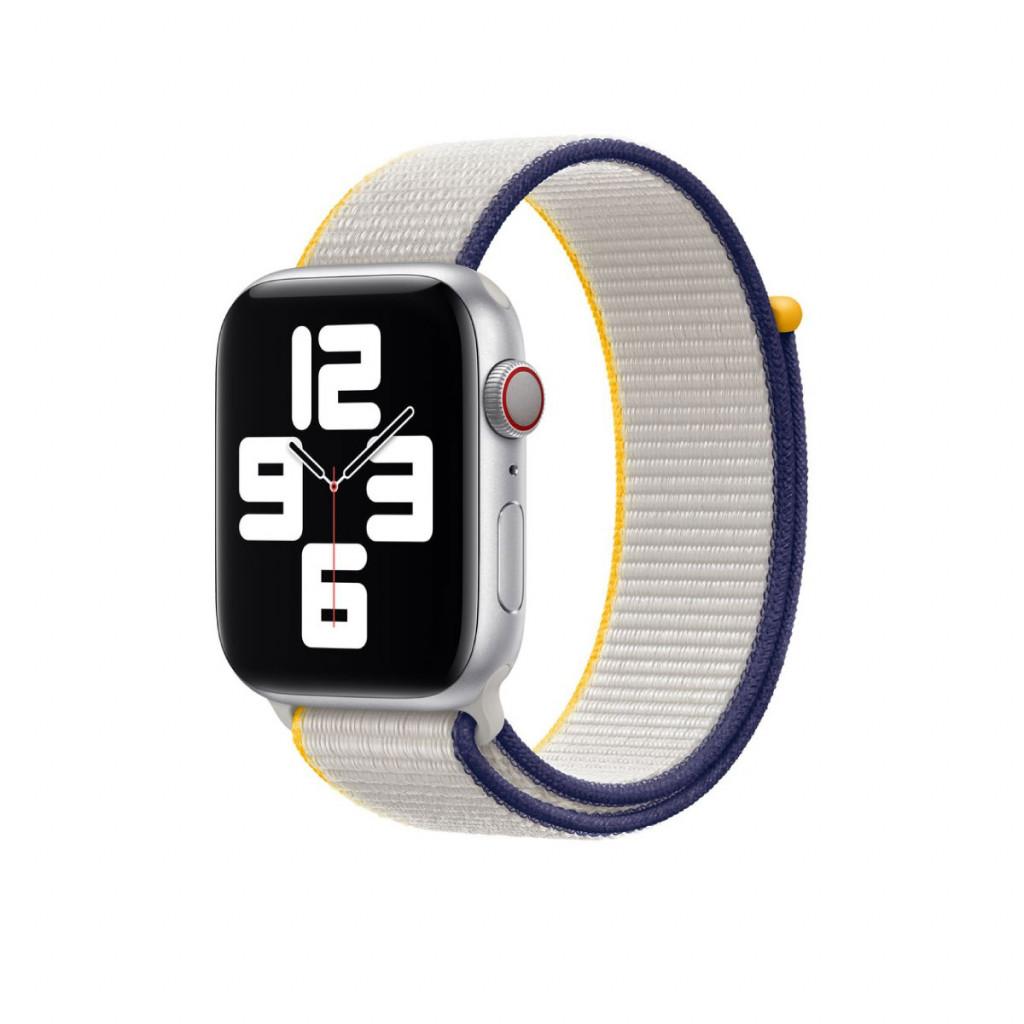 Apple Watch 44 mm Sport Loop - Sjøsalt