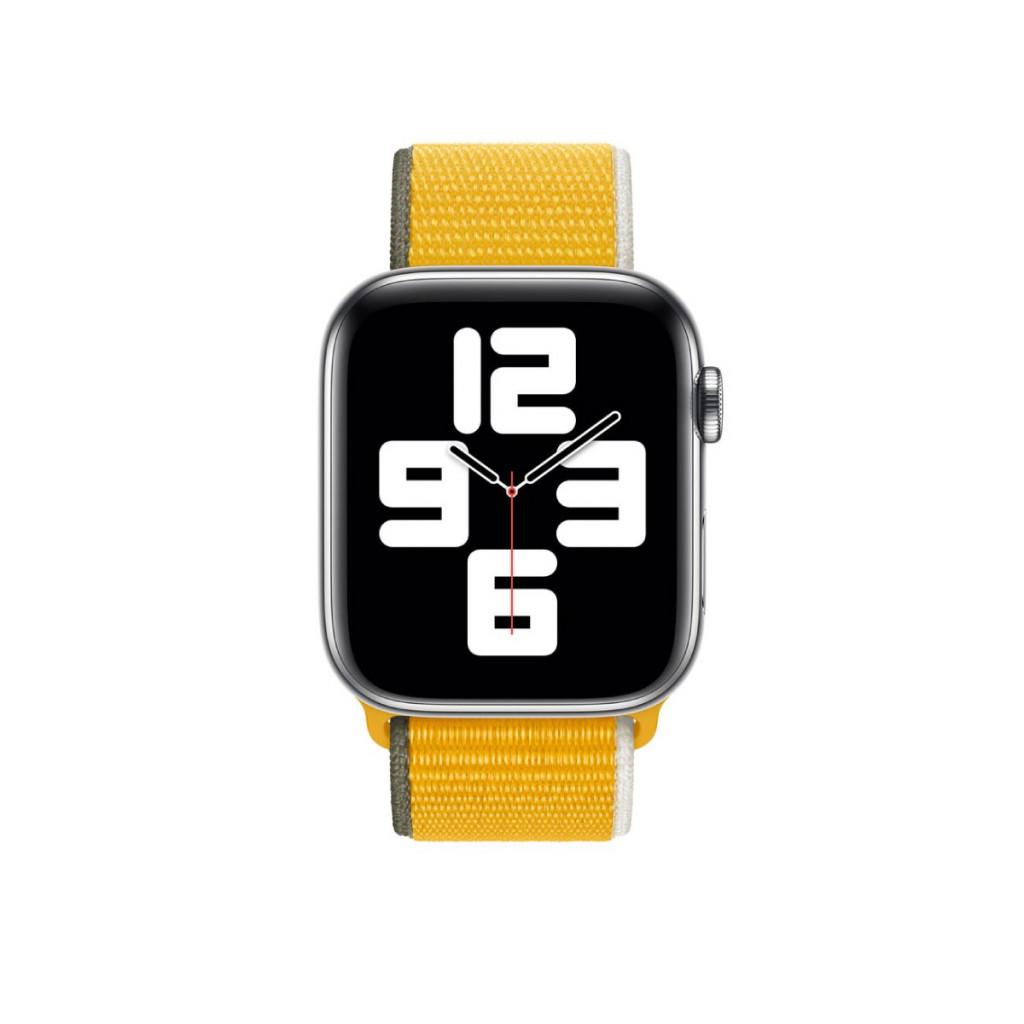 Apple Watch 44 mm Sport Loop - Solsikkegul