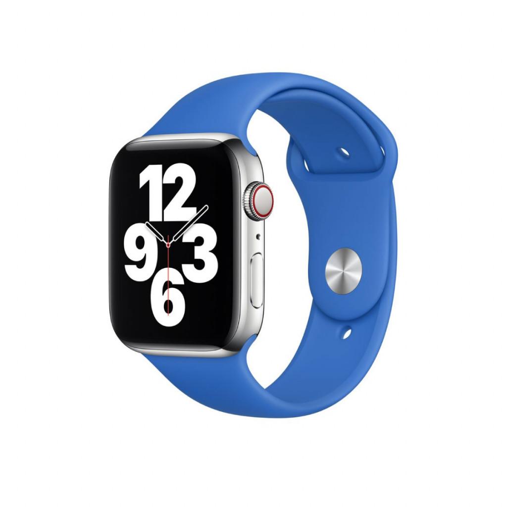 Apple Watch 44 mm Sport Band - Capriblå