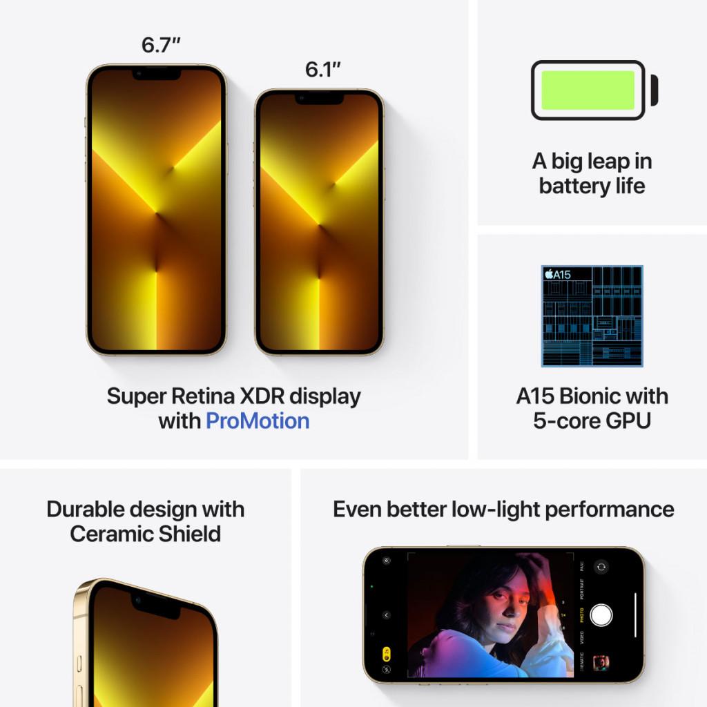 iPhone 13 Pro 512GB Gull