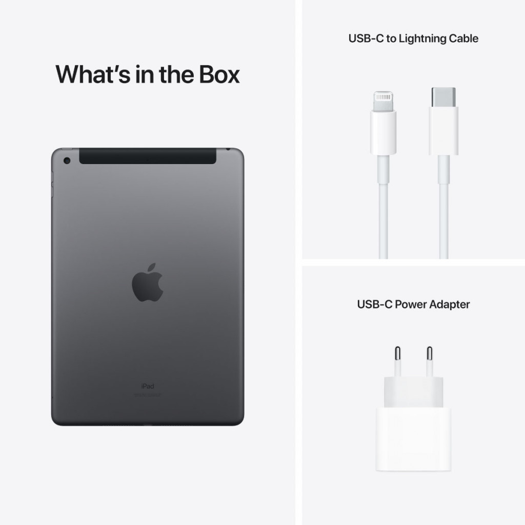 iPad (2021) 10.2-tommer Wi-Fi + Cellular 256GB Stellargrå