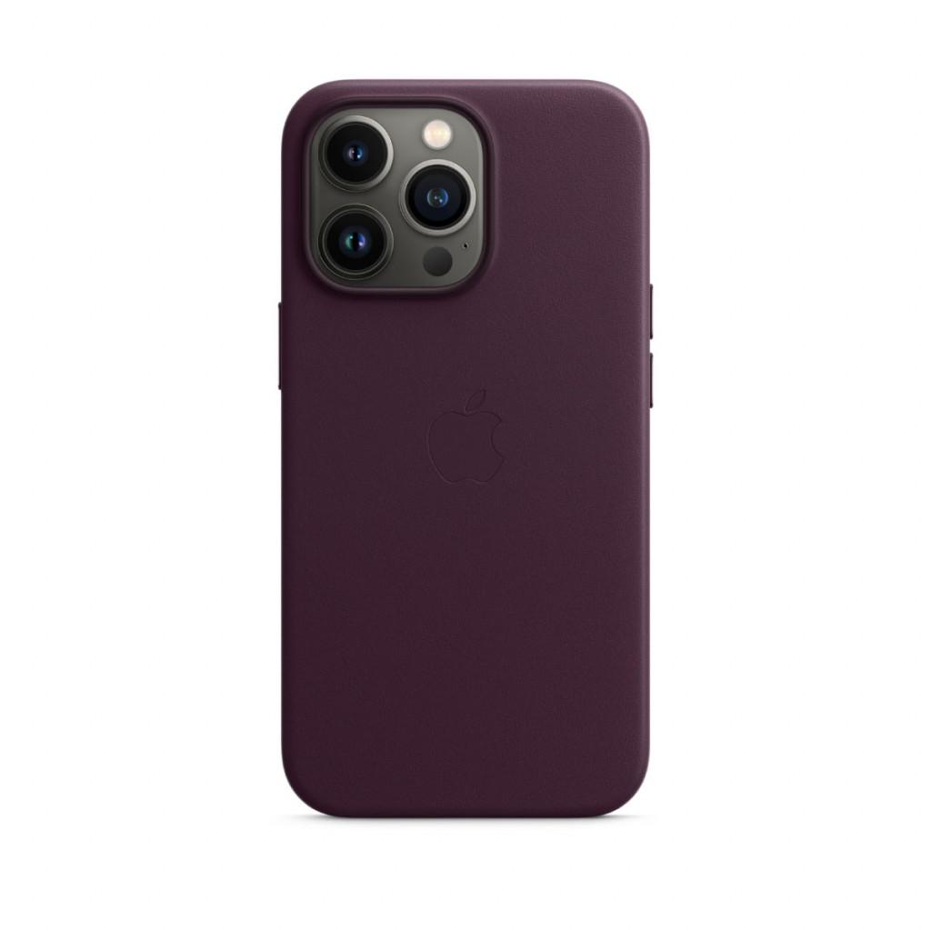 Apple Skinndeksel med MagSafe til iPhone 13 Pro – Mørk Kirsebær