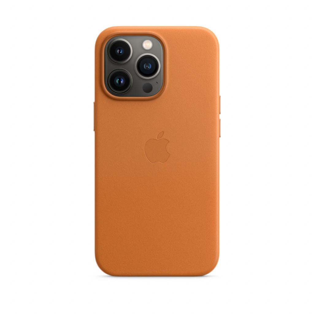 Apple Skinndeksel med MagSafe til iPhone 13 Pro – Gyllenbrun