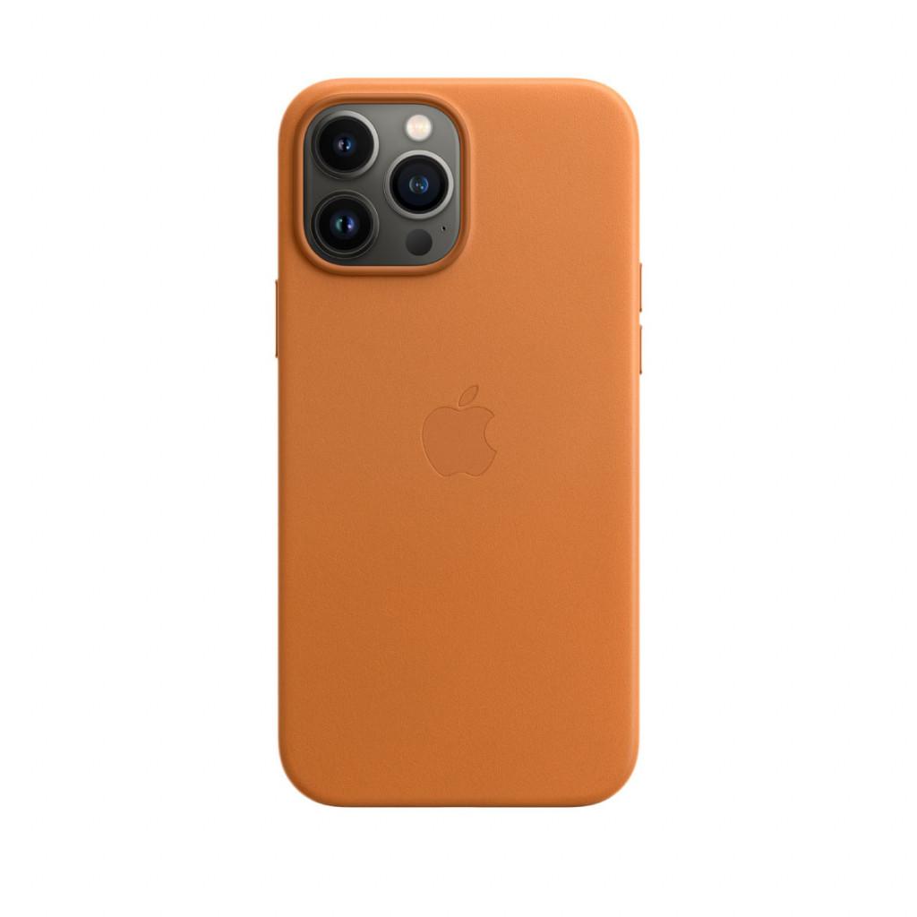 Apple Skinndeksel med MagSafe til iPhone 13 Pro Max – Gyllenbrun