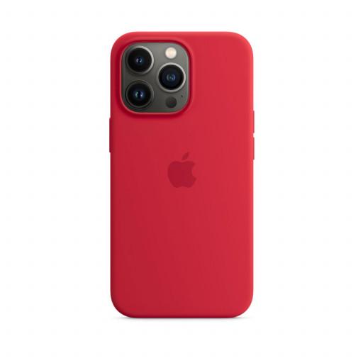 Apple Silikondeksel med MagSafe til iPhone 13 Pro – (PRODUCT)RED