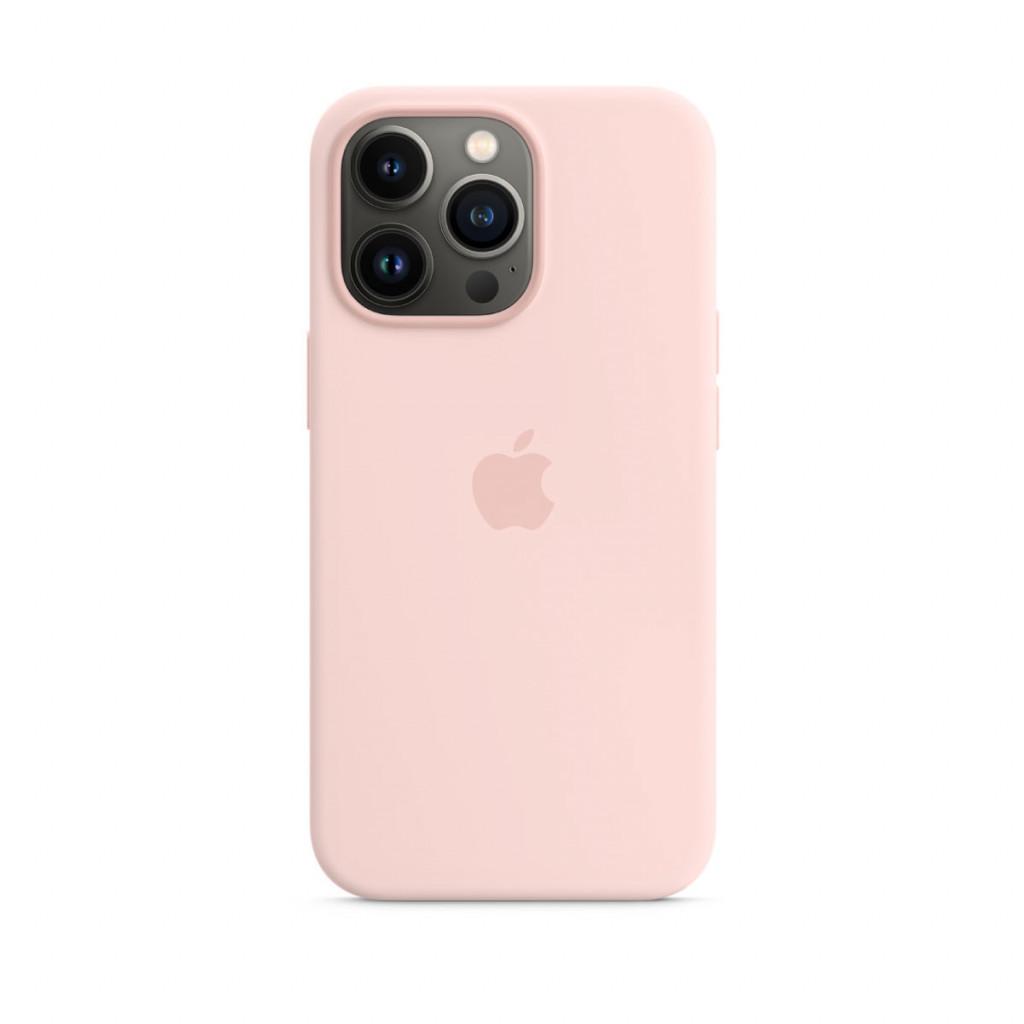 Apple Silikondeksel med MagSafe til iPhone 13 Pro – Krittrosa