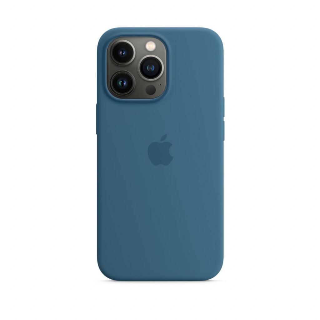 Apple Silikondeksel med MagSafe til iPhone 13 Pro – Dueblå
