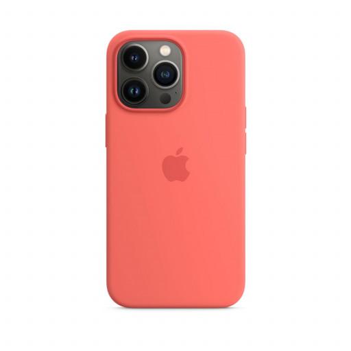 Apple Silikondeksel med MagSafe til iPhone 13 Pro – Rosa Pomelo
