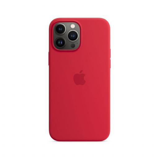 Apple Silikondeksel med MagSafe til iPhone 13 Pro Max – (PRODUCT)RED