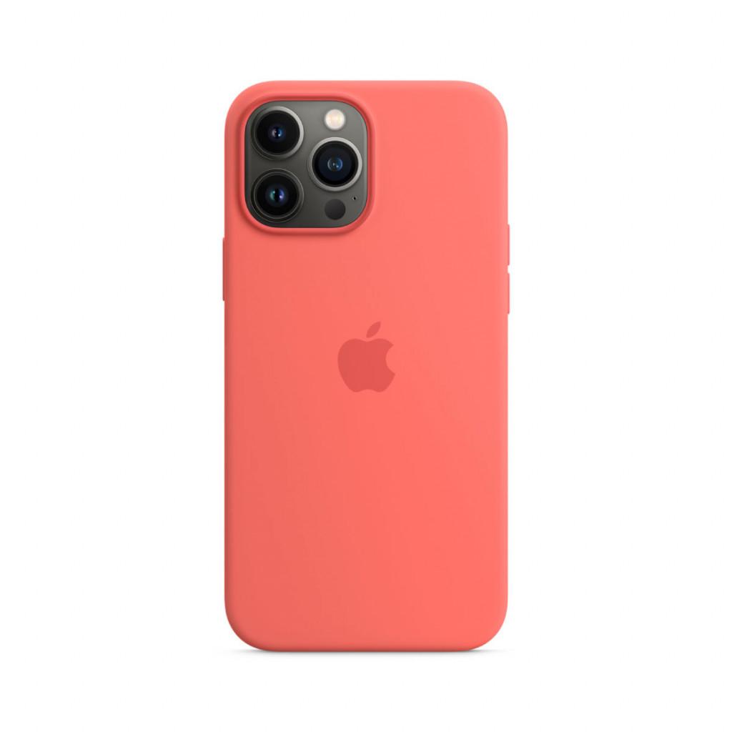 Apple Silikondeksel med MagSafe til iPhone 13 Pro Max – Rosa Pomelo