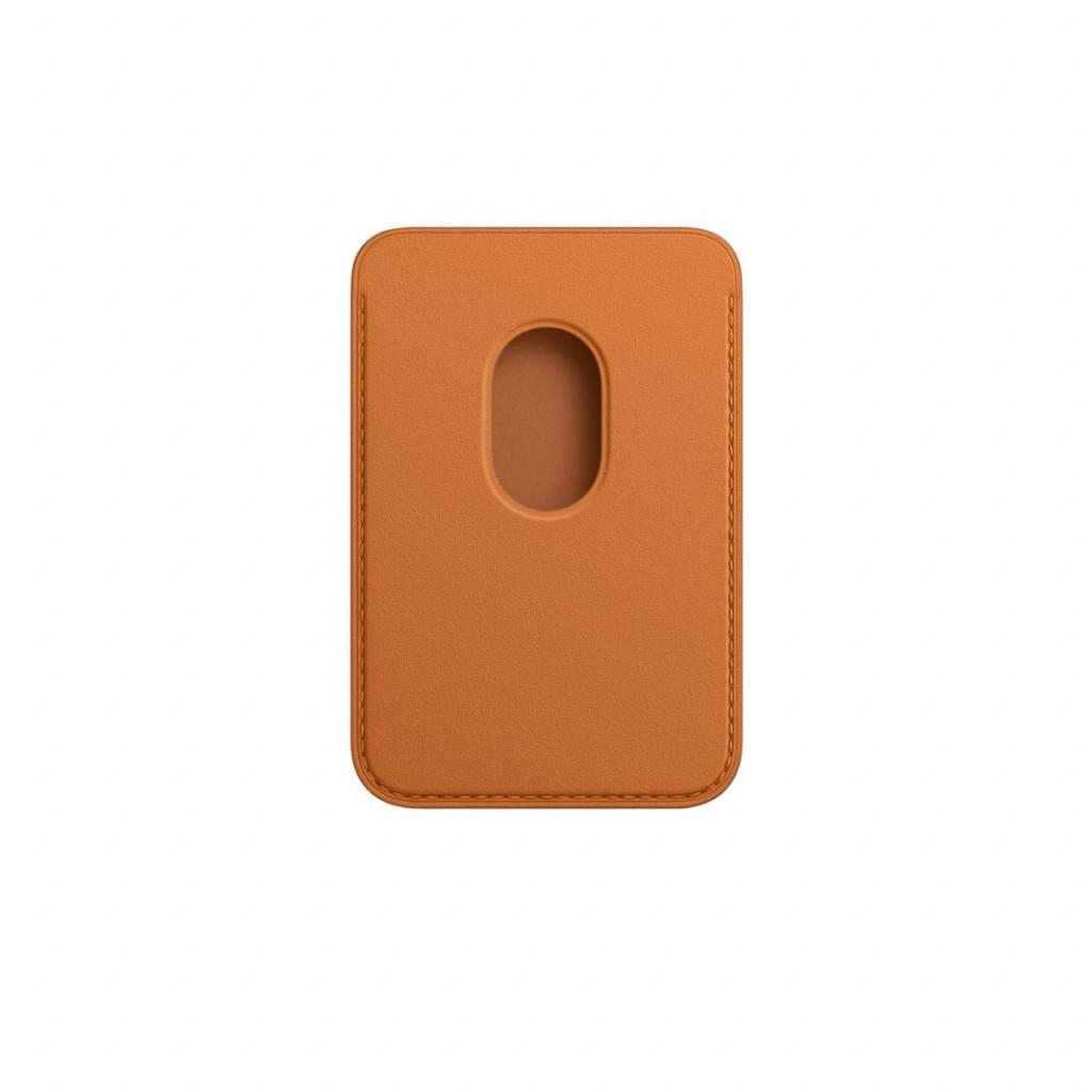 Apple Lommebok i skinn med MagSafe til iPhone – Gyllenbrun
