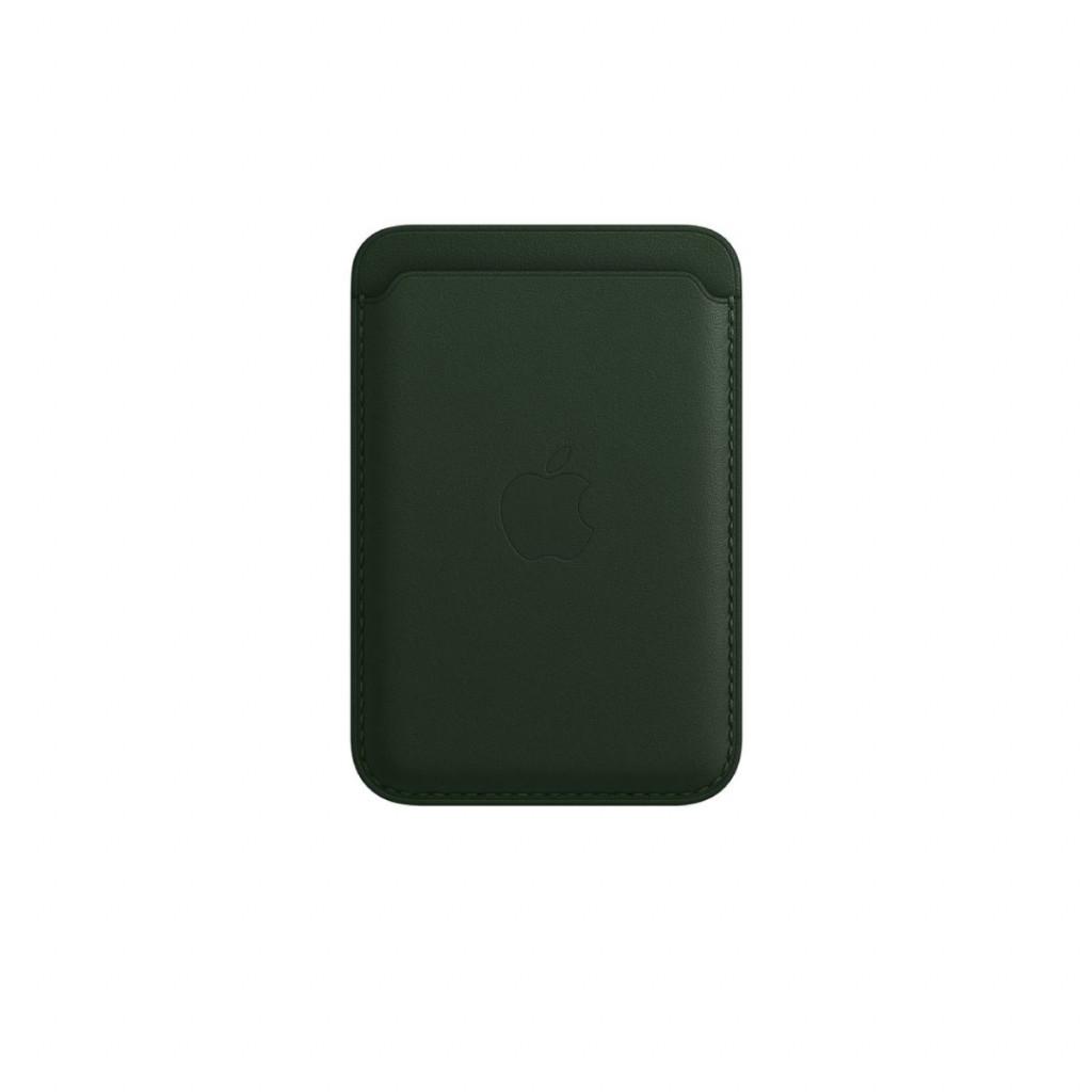 Apple Lommebok i skinn med MagSafe til iPhone – Sekoyagrønn