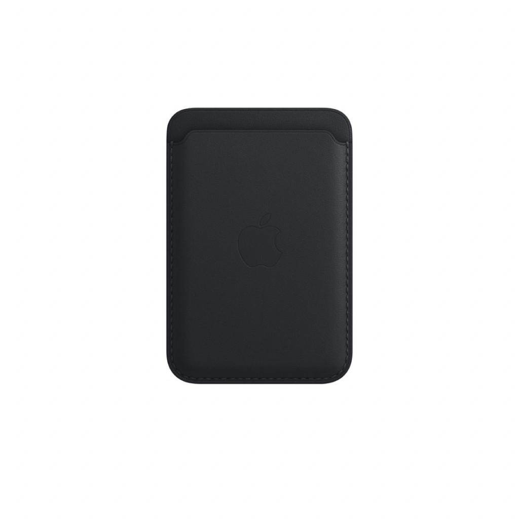Apple Lommebok i skinn med MagSafe til iPhone – Midnatt