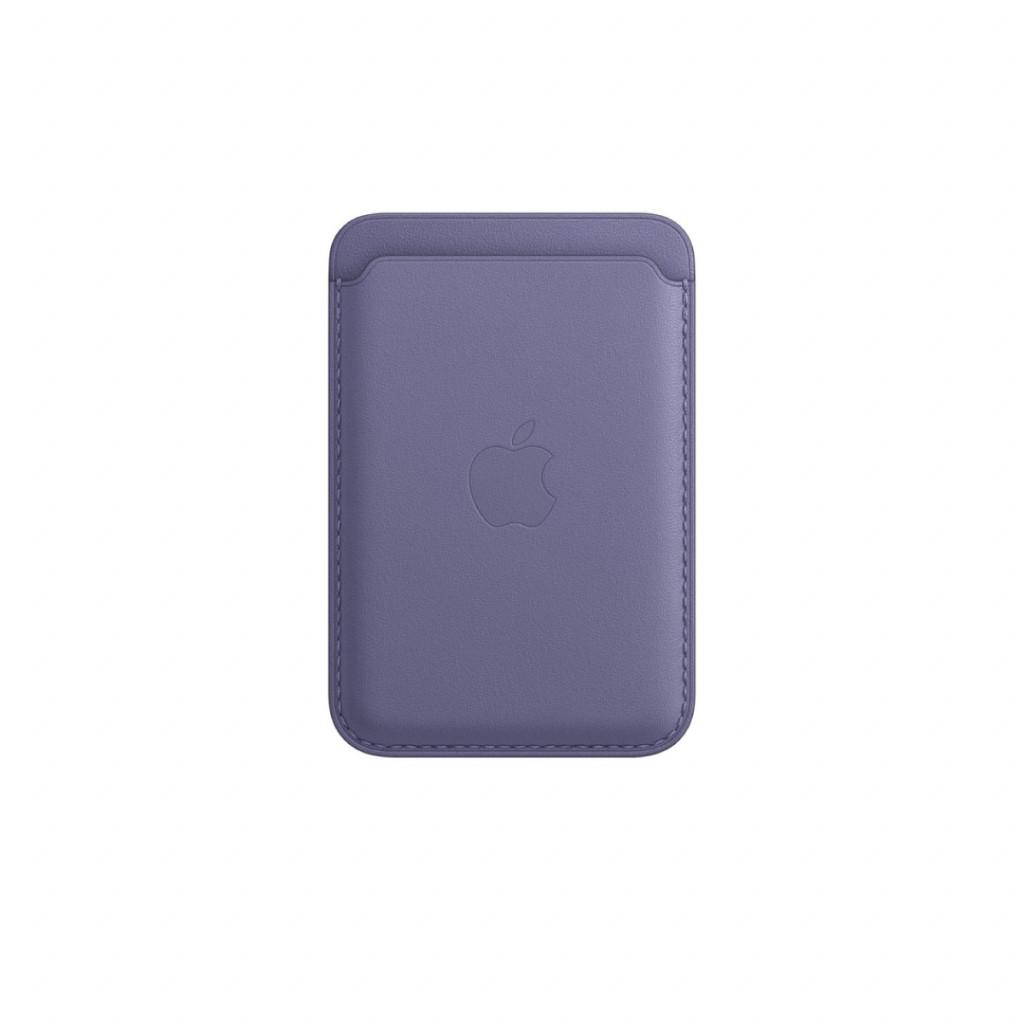 Apple Lommebok i skinn med MagSafe til iPhone – Blåregn