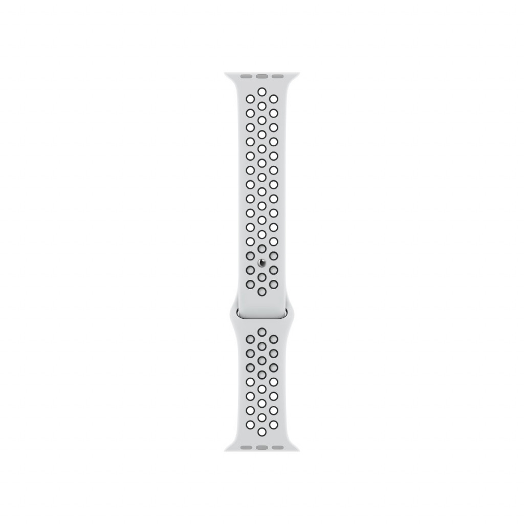 Apple Watch 45 mm Nike Sport Band - Pure Platinum/Black