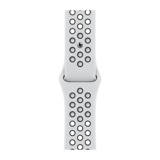 Apple Watch 41 mm Nike Sport Band - Pure Platinum/Black